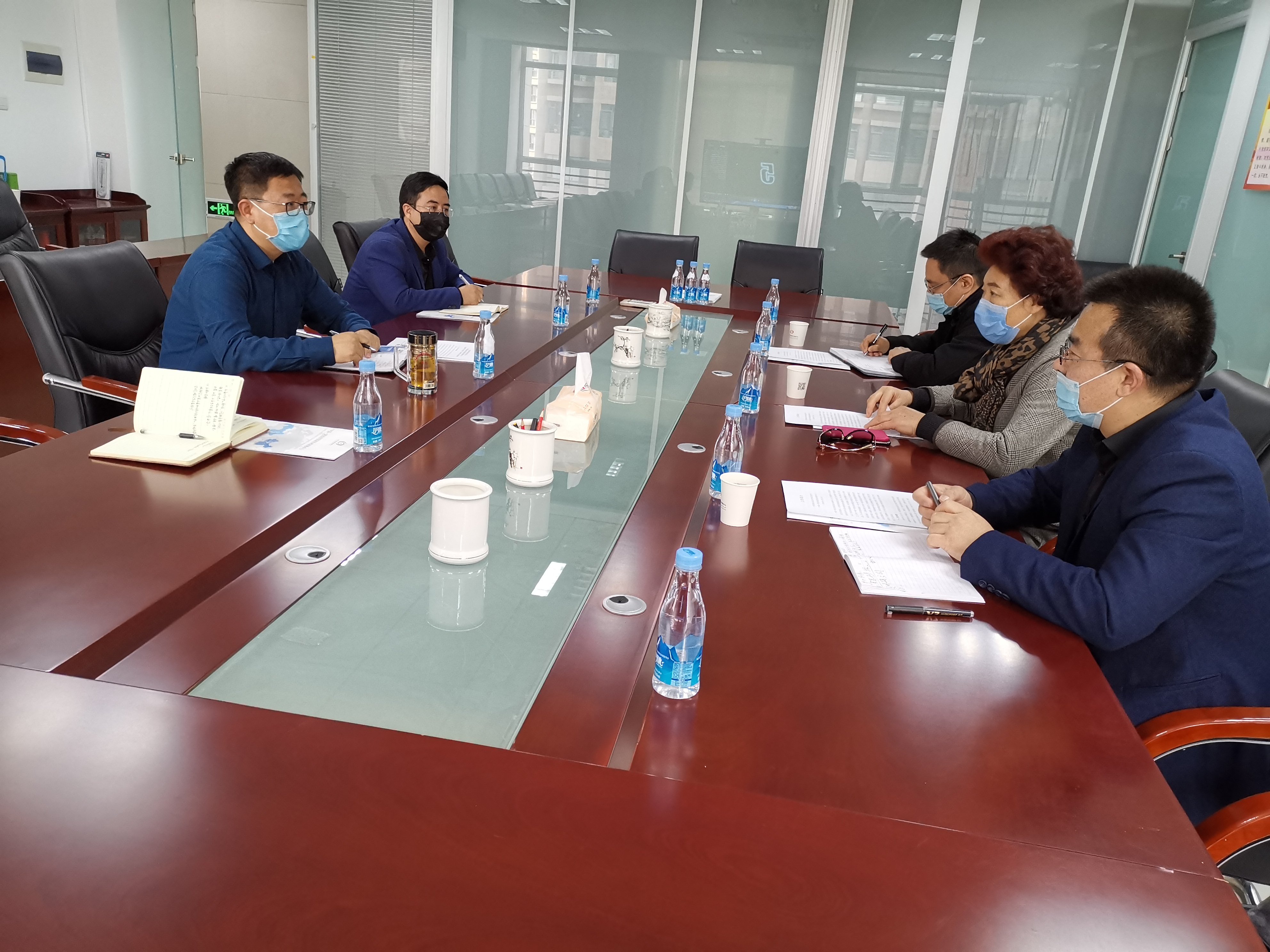 Li Yanqing, Vice President of North Minzu University visited CASTTC